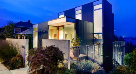 The Stair House by David Coleman Architecture