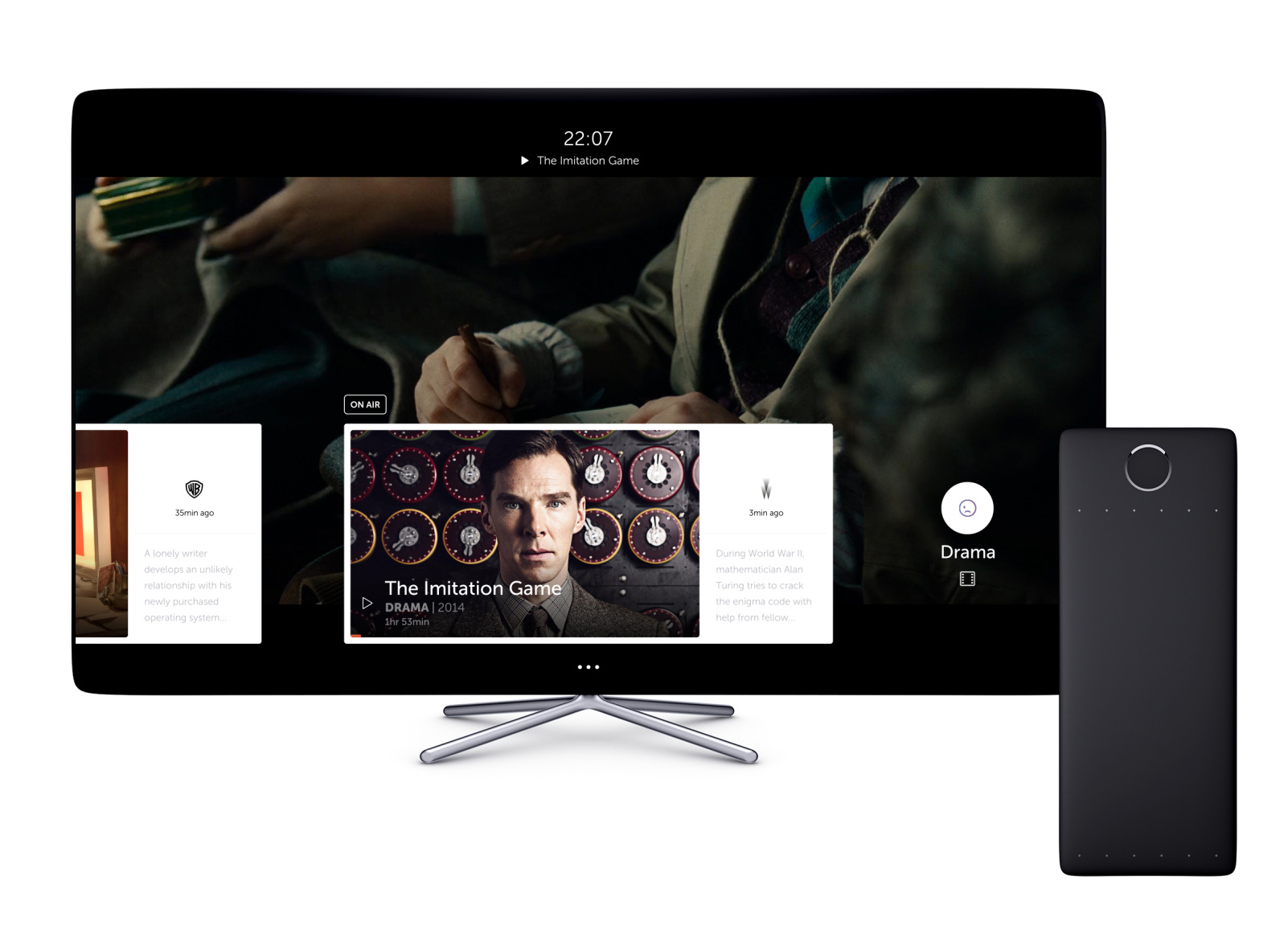 A New TV Concept Aims to Redefine Television for the Internet Generation