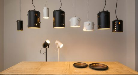 Lamps Made From Discarded Espresso Machine Boilers