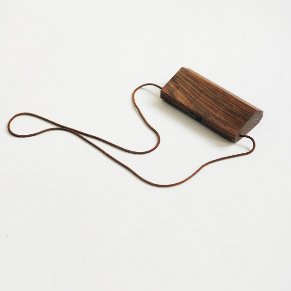 Wooden clutch bag 3