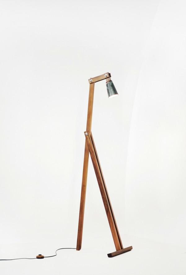Y floor lamp