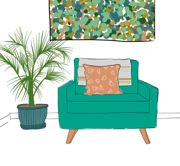 becky-simpson-illustration-chair-living-room