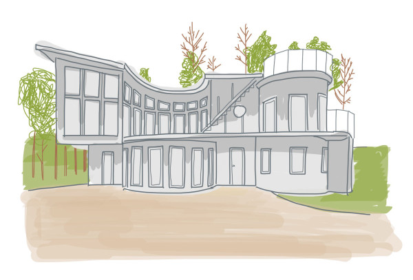 becky-simpson-illustration-modern-house