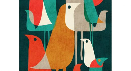 6 Designs for the Birds from Society6