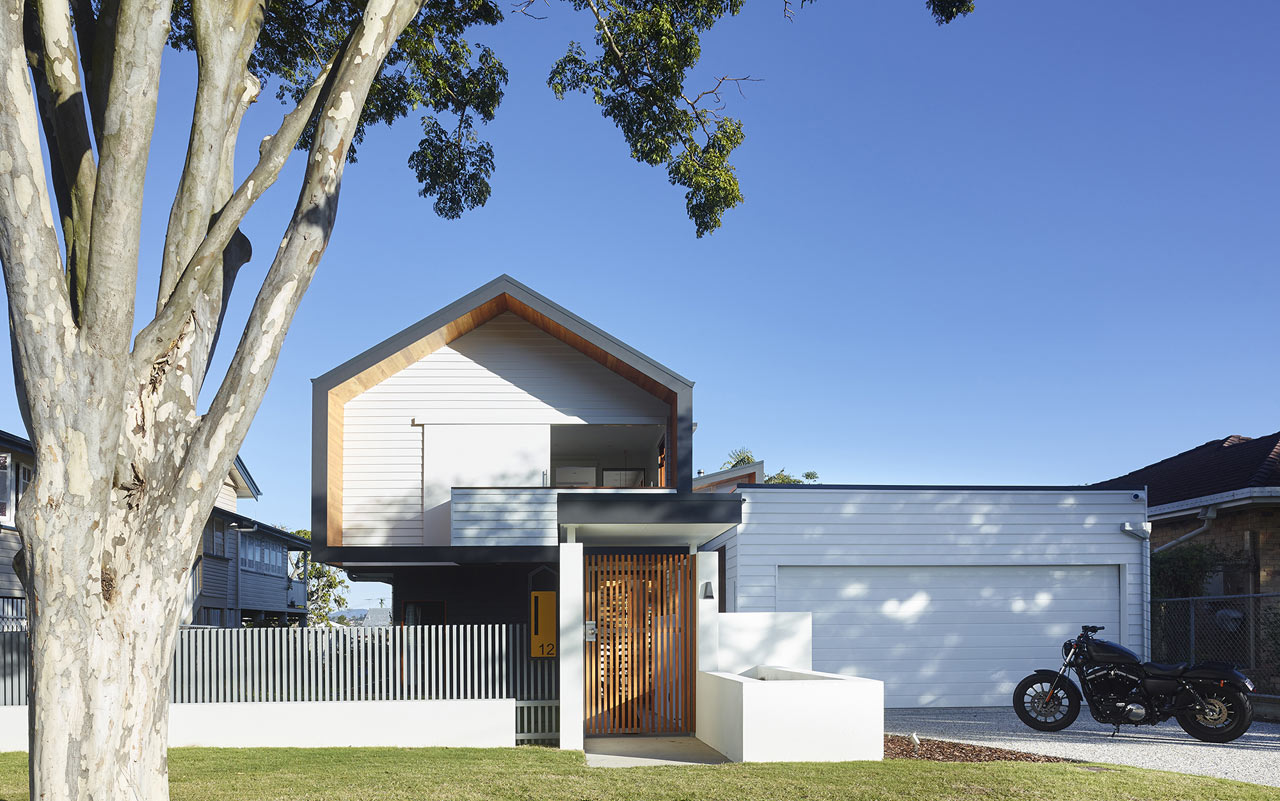 An Unassuming Residence Composed of Simple Forms