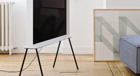 Ronan & Erwan Bouroullec's Typographic Samsung Serif TV