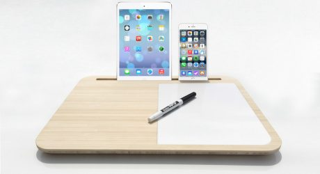 A Minimalist Lapdesk Called Tab