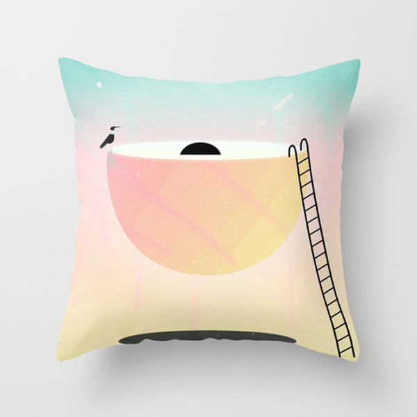 weird-landscape-throw-pillow