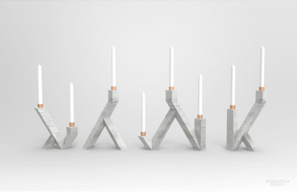 10-candle sticks concrete-jimmy-delatour-design-lab