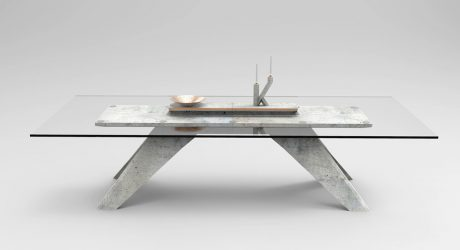 A Furniture and Object Line Featuring Concrete