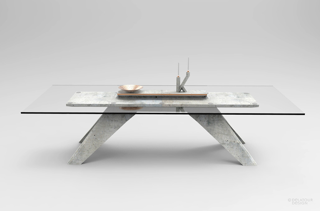 A Furniture And Object Line Featuring Concrete Design Milk