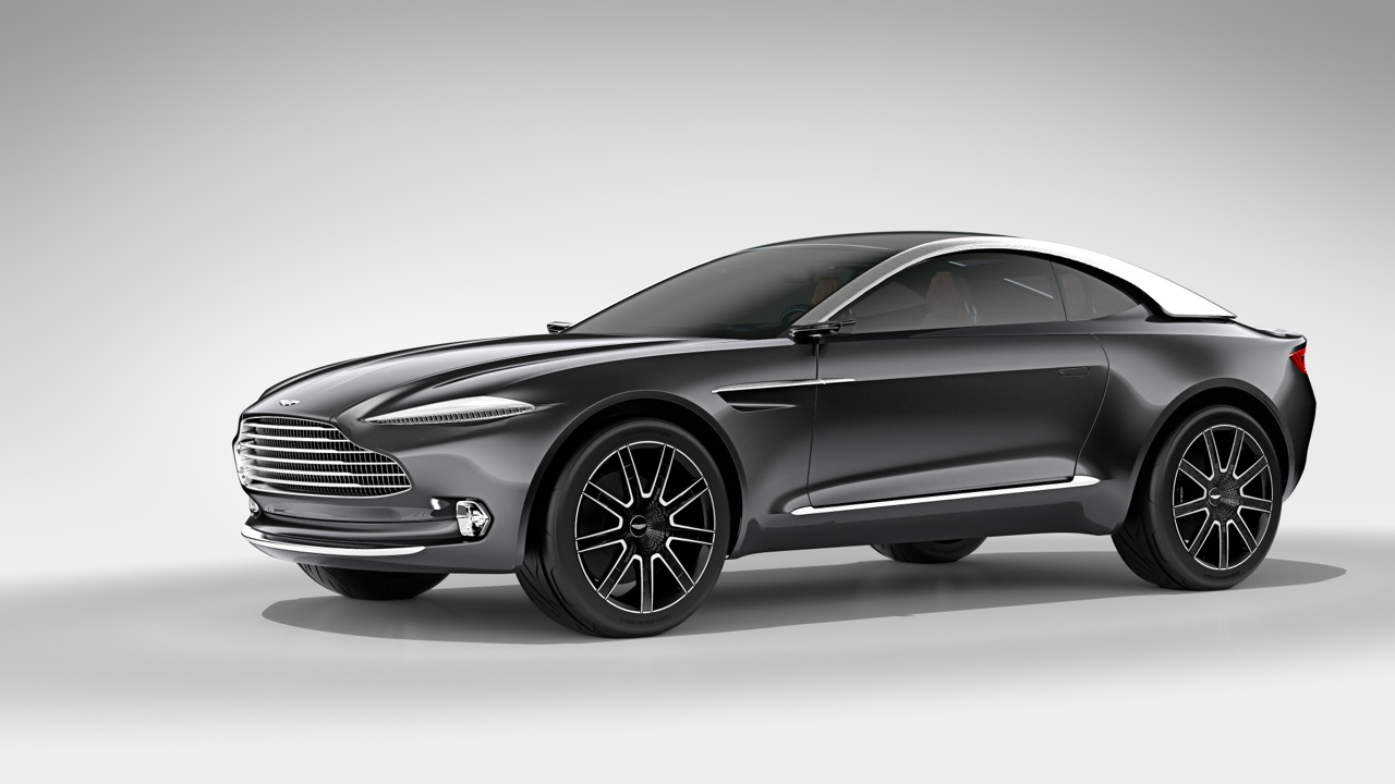 Aston Martin DBX Concept Showcased at Tom Dixon's MULTIPLEX
