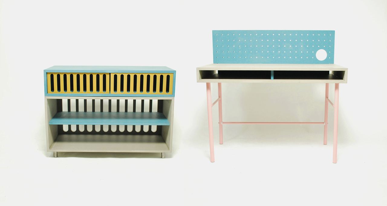 Furniture Inspired by the Memphis Movement
