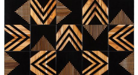 Brasiliana: Wood Tile That Explores Periods of Brazilian History