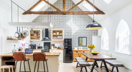 A Chapel is Converted into a Modern Home