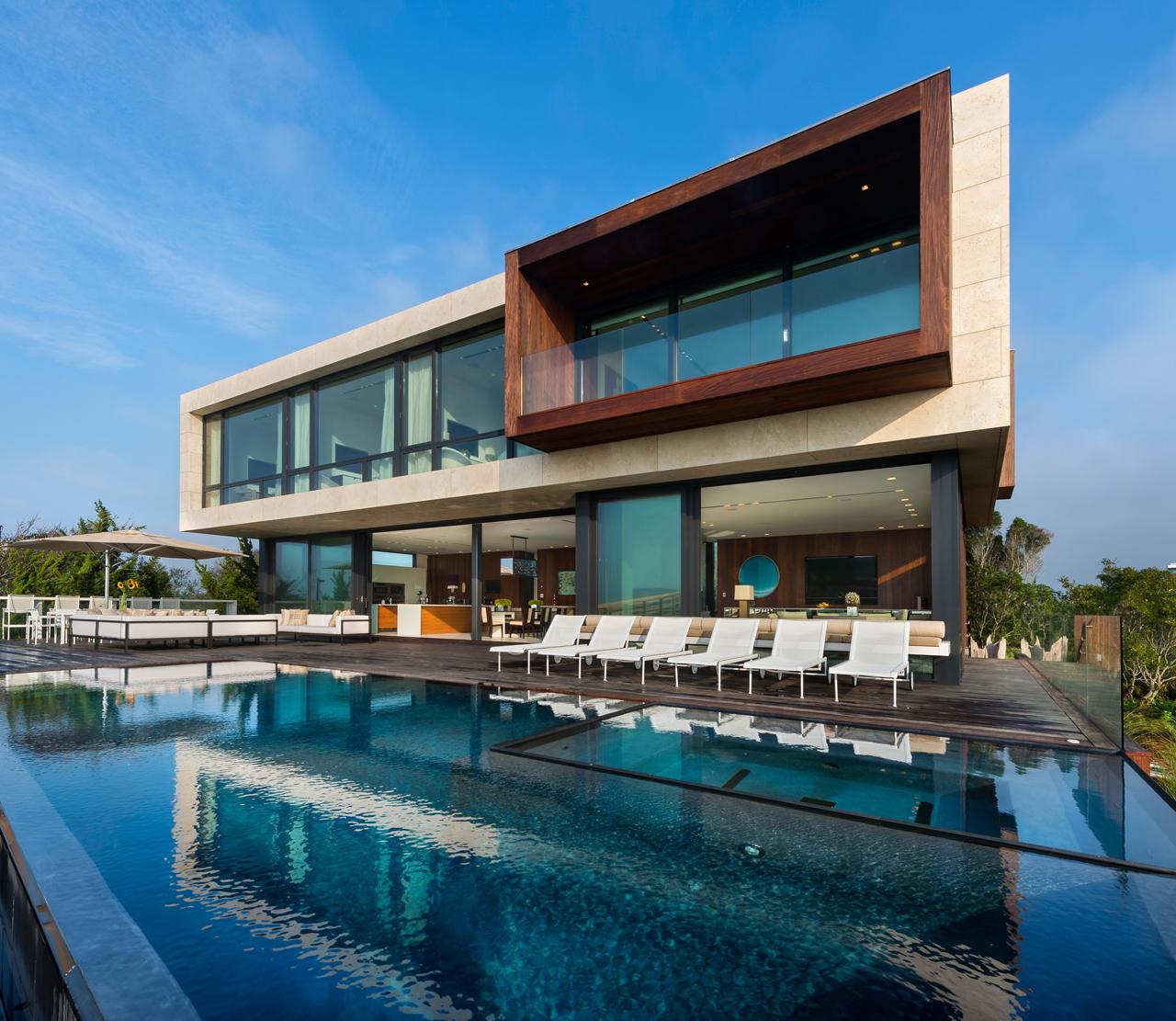 An Oceanfront, Southampton Home Built 17 Feet Above Sea Level