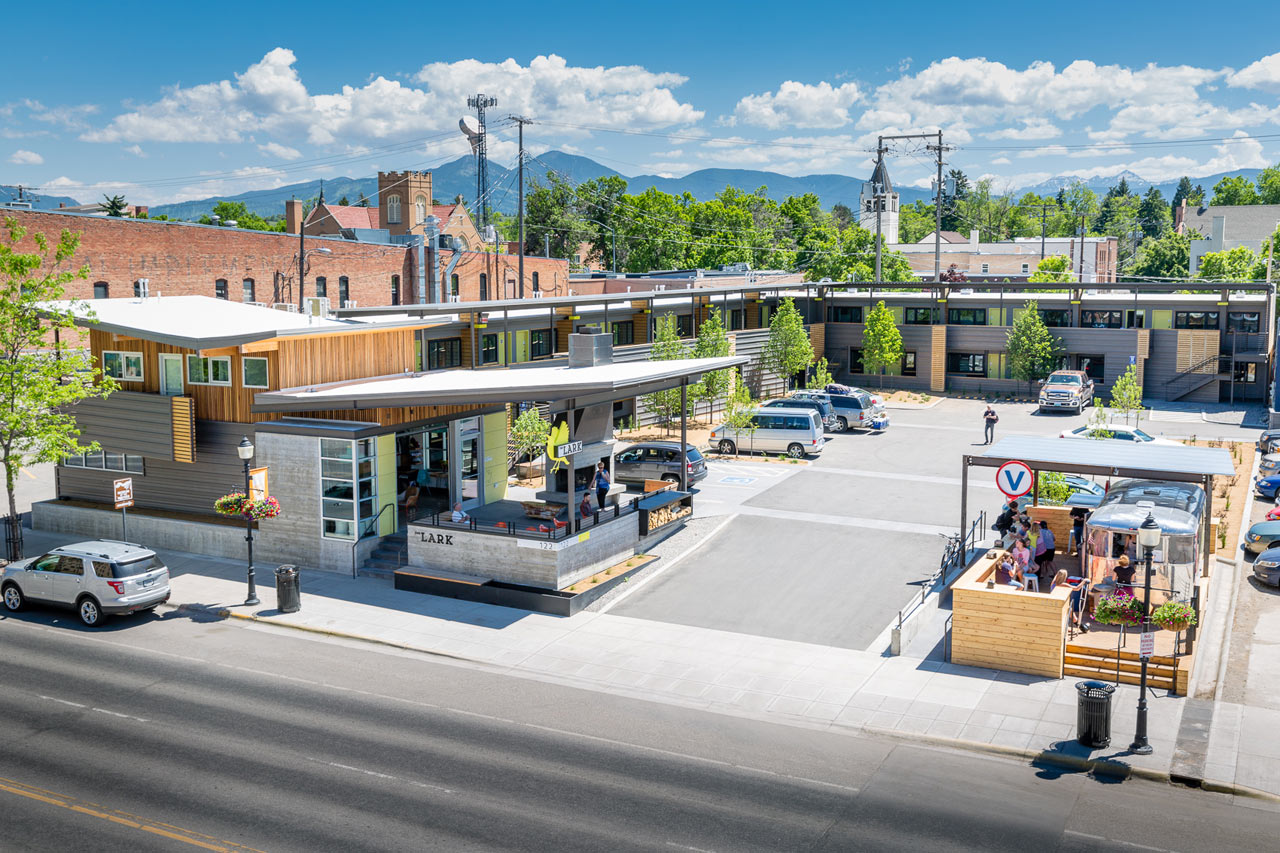 Living In Bozeman : The LARK: A Hub for Adventurers in Montana - Design Milk