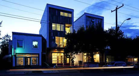 Seattle's First 5-Star Built Green Live/Work Homes by Dwell Development