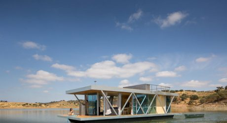 A Custom, Modern Floating House by Friday