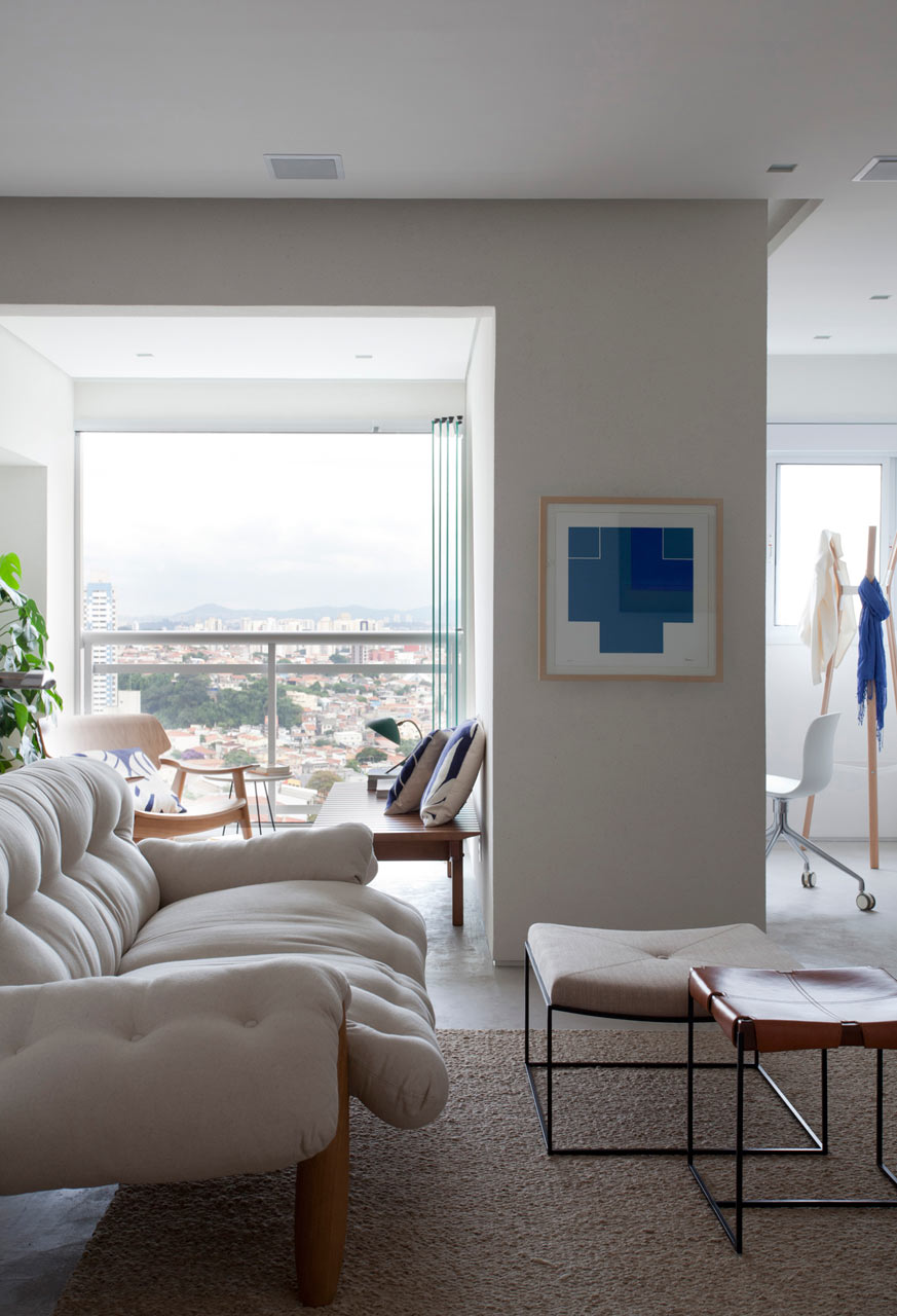 An Apartment for a Design-Loving Couple in Brazil