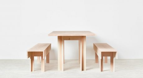 Planks: Furniture Inspired by Carpenter's Workbenches