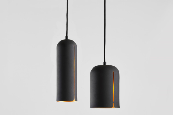 NUR_GAP Pendant_White & Brass_WOUD
