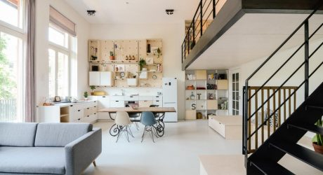 An Old School in Amsterdam is Converted into New Apartments