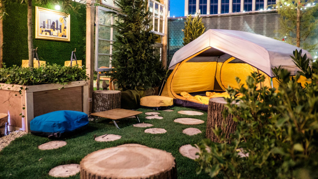 REI Created an Outdoor Urban Oasis with Their evrgrn Collection