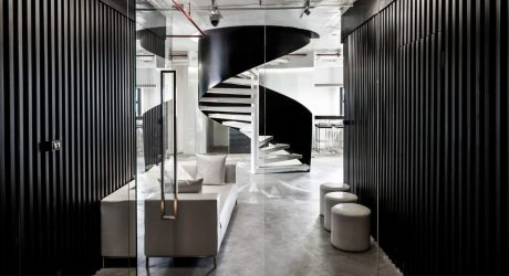 Rabbit's Tale: An Office with a Strong, Graphic Presence