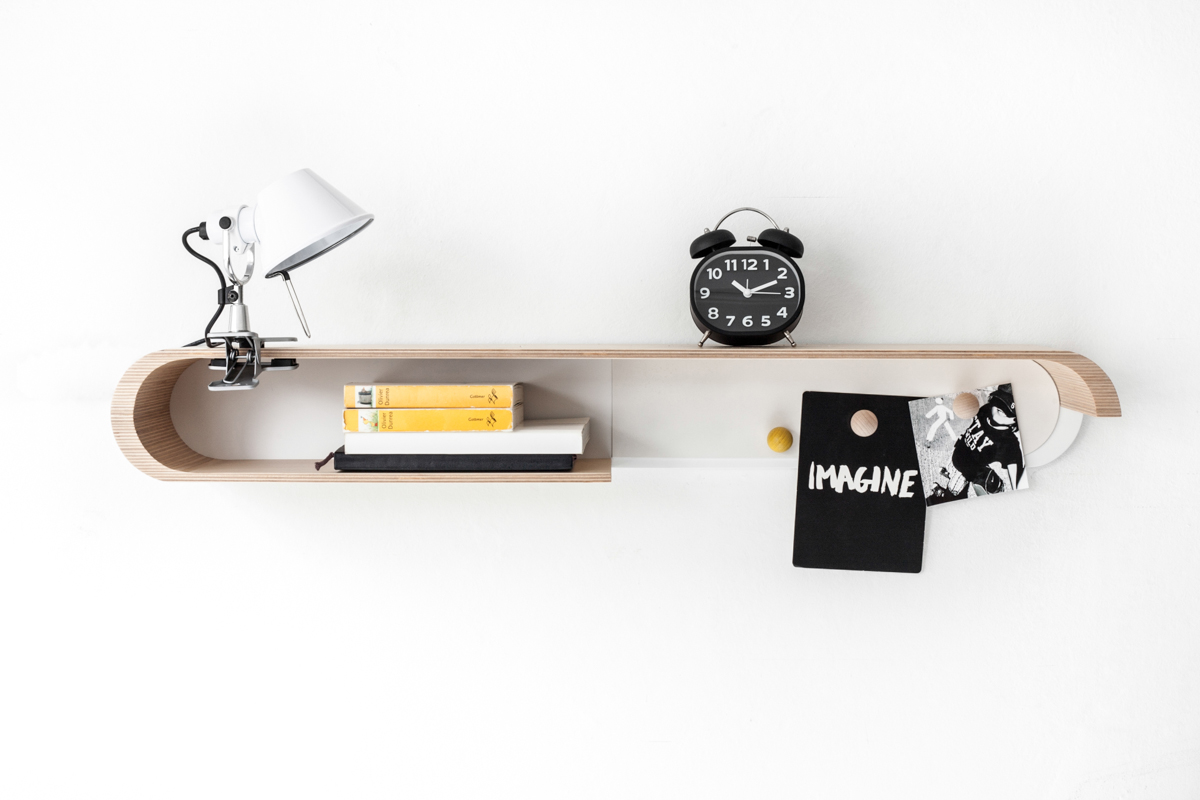Customizable, Minimal Shelving from Rafa-kids