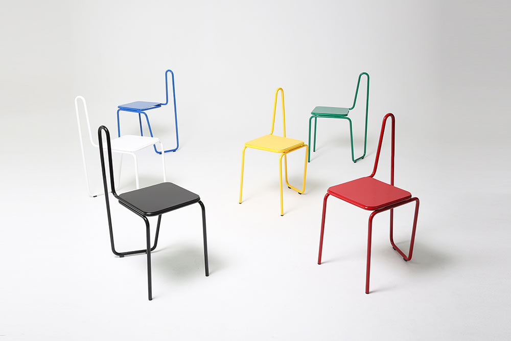 A chair inspired by a line drawing from picasso design milk for Chair design drawing