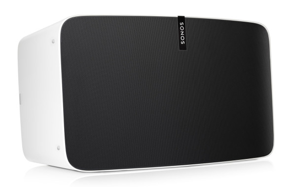 The Sonos Play:5 is available in either matte black and matte white.
