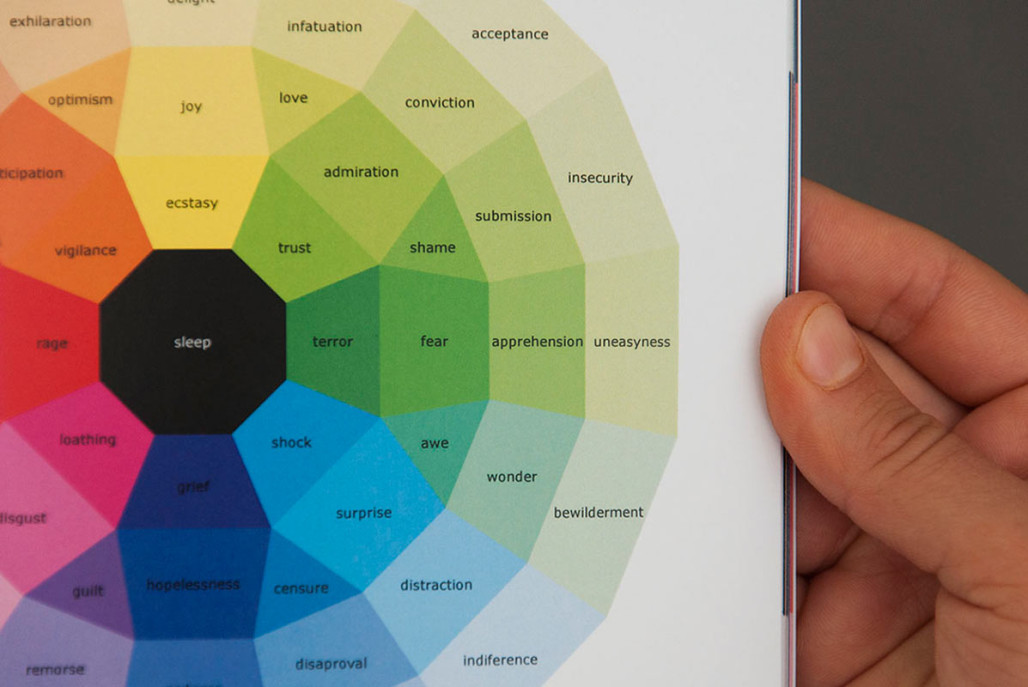 300 Days of Emotion Color-Coded Diaries