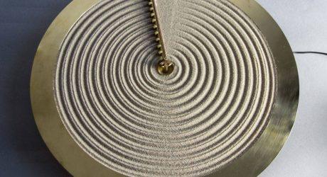 The Poetic Sand Clock by Studio Ayaskan