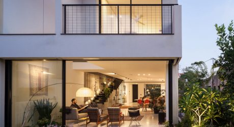 A Townhouse in Tel Aviv by David Lebenthal Architects