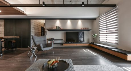 A Weekend Apartment for Entertaining Friends