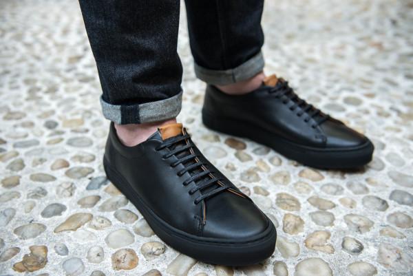 beckett simonon black sneakers 2