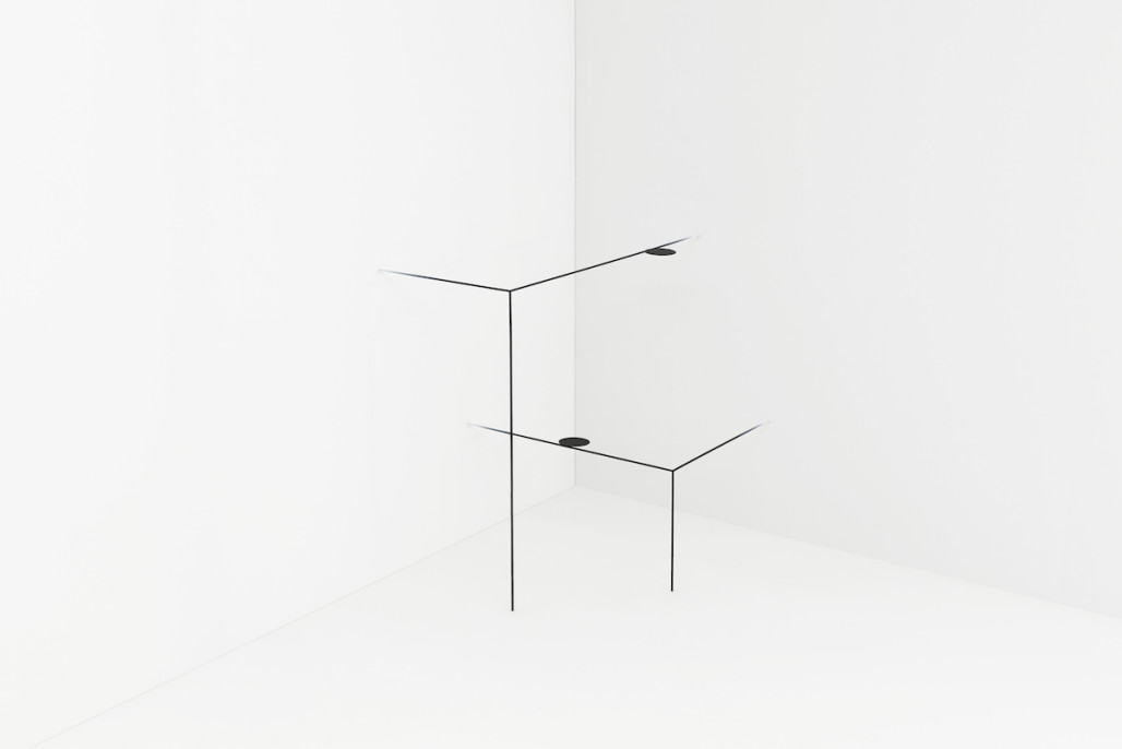 Border Table by Nendo