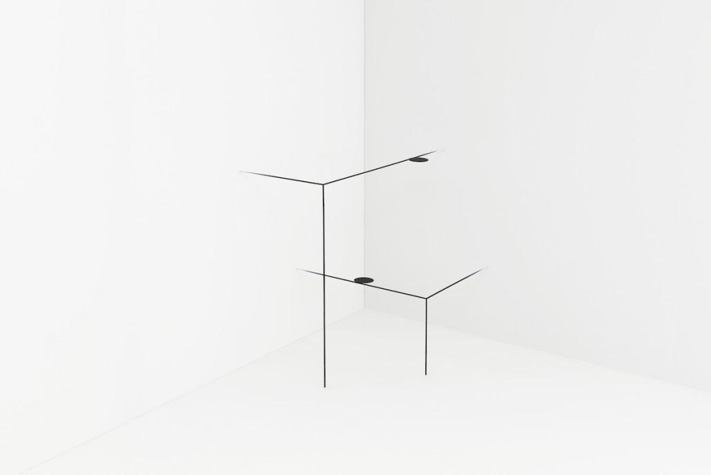 Border Table by Nendo