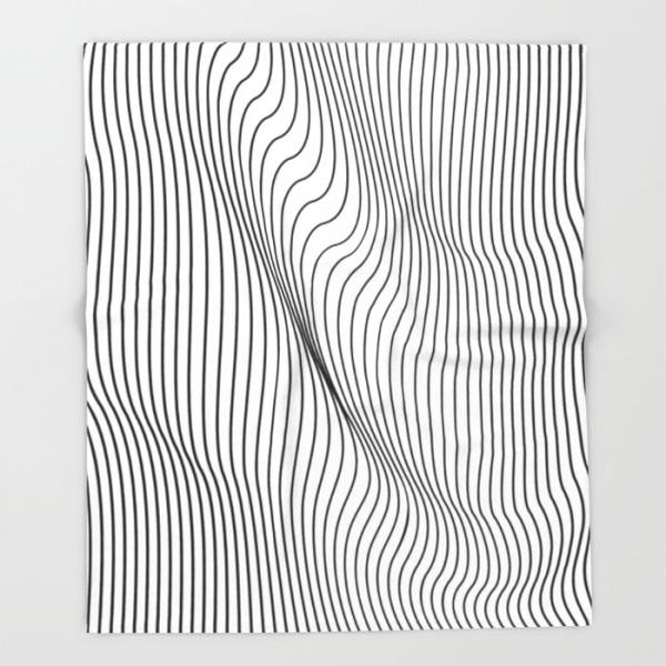 minimal-stripes-blanket