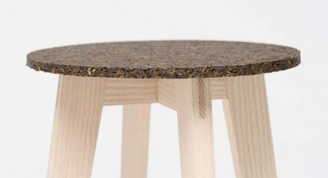 Stools Made From Washed Up Waste Material
