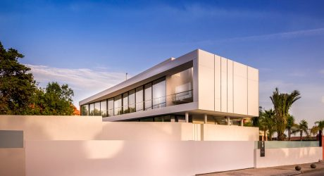 A Holiday Villa with Views of the Mediterranean Sea