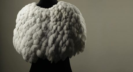 Plumage: A 3D Printed Cape by Love & Robots