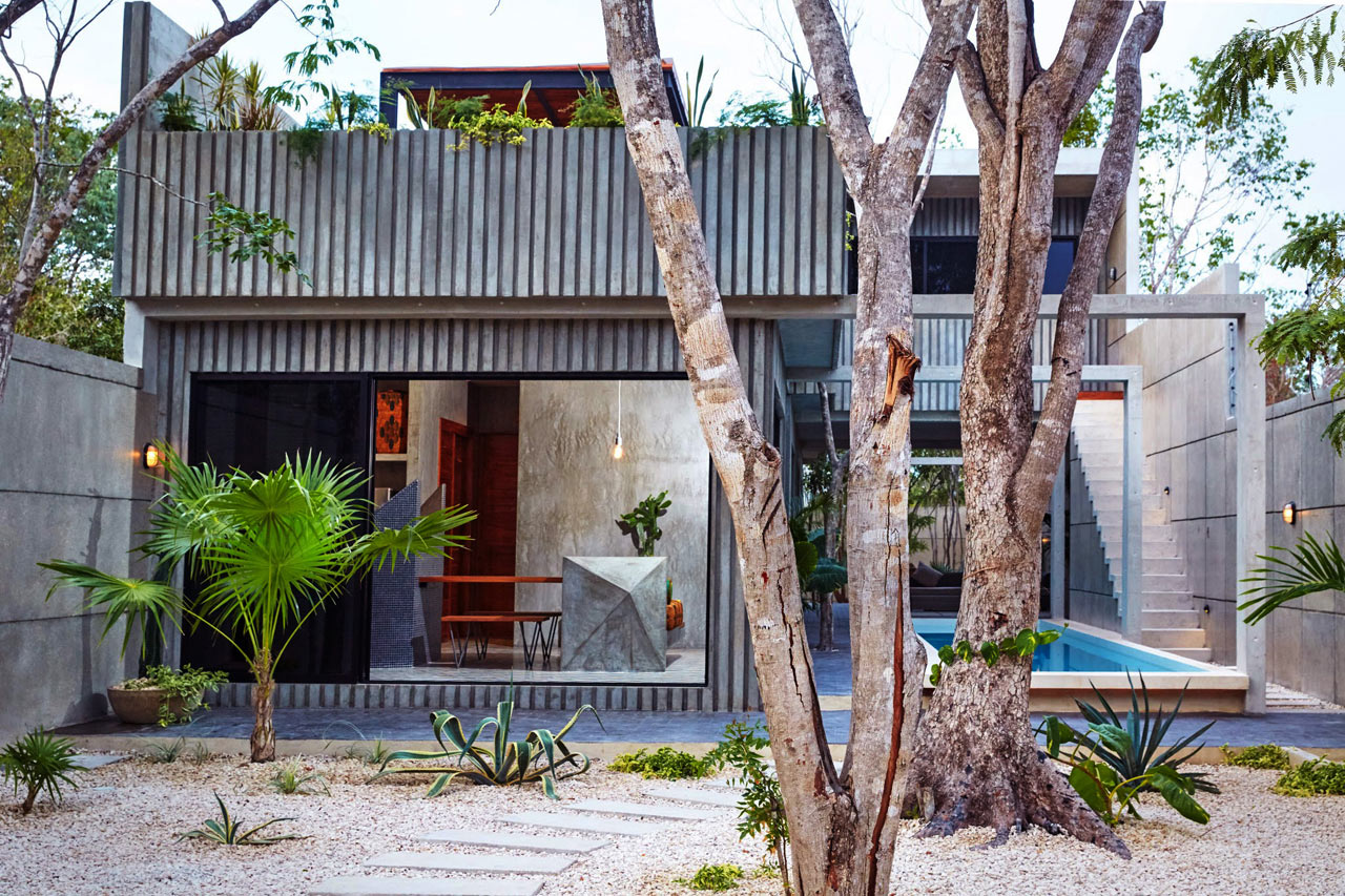 A Tropical Vacation Home in Tulum, Mexico
