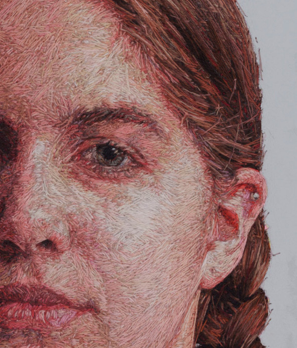 Painting With Thread: New Work by Cayce Zavaglia