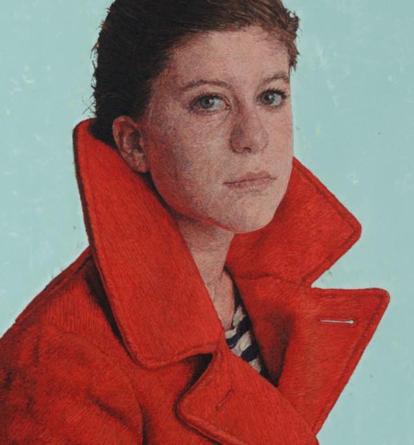 Raphaella in Her Winter Coat (After Alex)