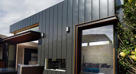 A Renovation & Extension Upgrades an Art Deco House