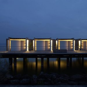 A Hotel That Floats Above Water in Switzerland