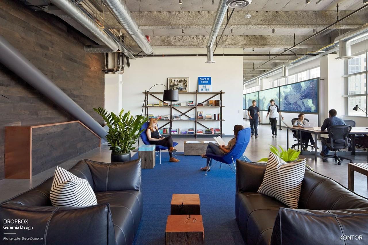 kontor is pinterest for workspace design - Design Workspace
