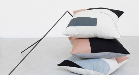 TESTO Launches a Capsule Collection of Abstract Pillows